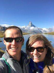 Stellisee Matterhorn reflection lake 5 Lakes Walk hike Zermatt Sunnegga Switzerland